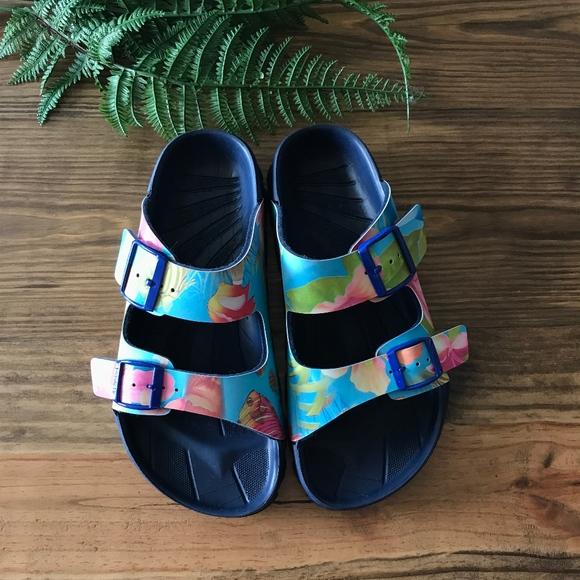 10b9145d62b8 Birkenstock Shoes - Birkis Haiti Lagoon Blue sandals by Birkenstock